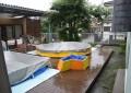 雨の日の夏期保育1